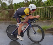 Cameron Brown Japan Ironman 2018 cycling