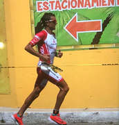 Terenzo Campeche 2018 on the run